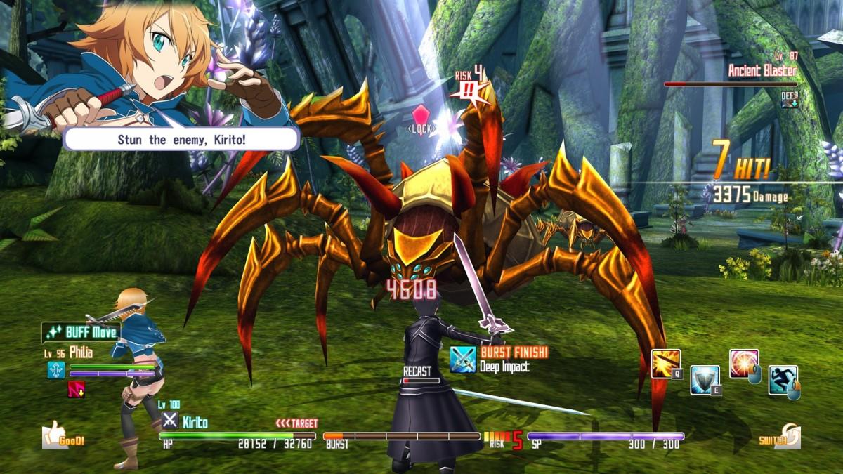 Sword Art Online Re: Hollow Fragment Télécharger Jeu PC