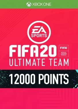 FIFA 20: 12000 FUT Points Xbox ONE